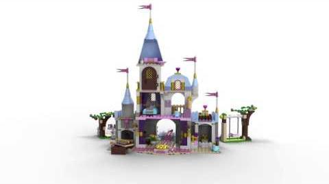 Lego Disney Princess 41055 Cinderella's Romantic Castle Lego 3D Review