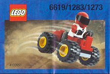 1273 Red Four Wheel Driver