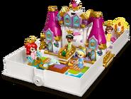 43193 Les aventures d'Ariel, Belle, Cendrillon et Tiana dans un livre de contes 2