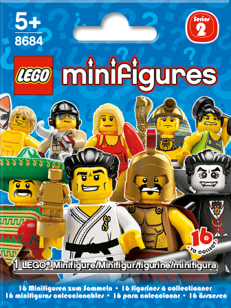 8684 Minifigures Série 2