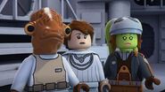 Admiral Ackbar with Hera and Mon Mothma