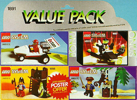1891 Bonus Value Pack