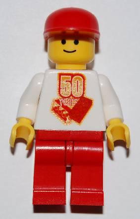 50th Anniversary Minifigure