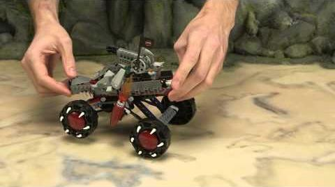 LEGO Legends of Chima - Wakz' Pack Tracker 70004