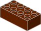 3754 2x4 Brown Bricks