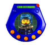 Desktop minifigs cam attaway