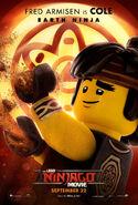 The LEGO Ninjago Movie Poster Cole 2