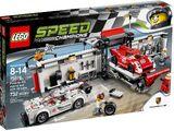 75876 Porsche 919 Hybrid and 917K Pit Lane