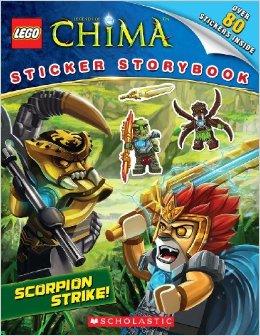 LEGO Legends Of Chima: Sticker Storybook