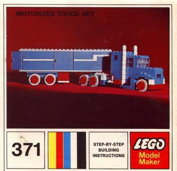 371 Motorized Truck Set