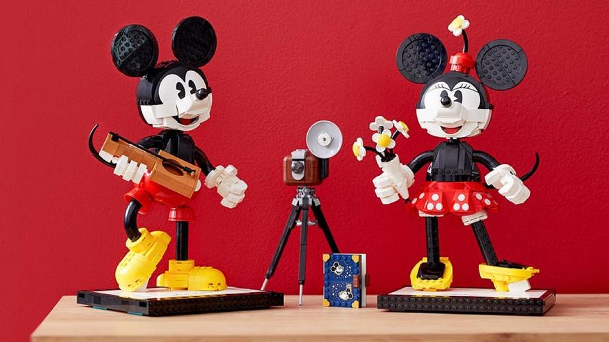 43179 Personnages à construire Mickey Mouse et Minnie Mouse