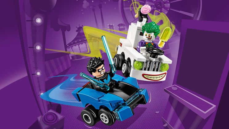 76093 Mighty Micros : Nightwing contre Le Joker