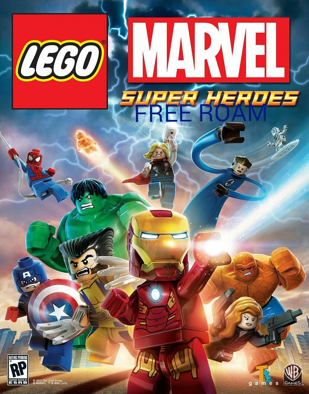 LEGO Marvel Superheroes Free Roam
