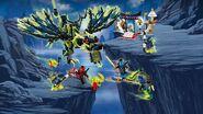 Lego Ninjago Attack of The Morro Dragon 4