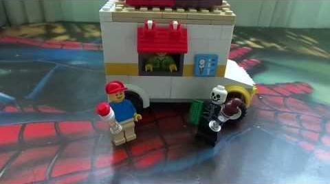 Como hacer un camión de helados Lego P Rodriguez XD
