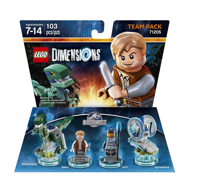 71205 Jurassic World Team Pack