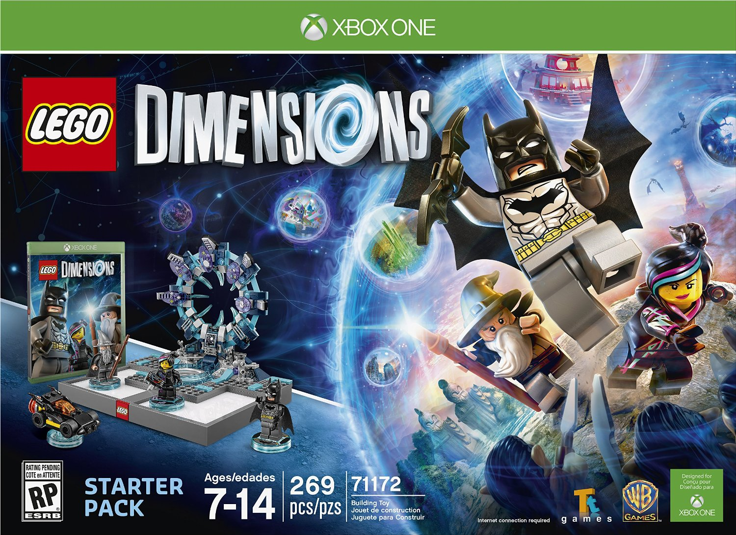 71172 LEGO Dimensions Starter Pack: Xbox One