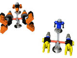4485 Sebulba's Podracer & Anakin's Podracer