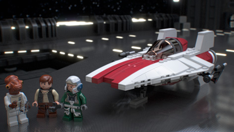 75003 A-wing Starfighter