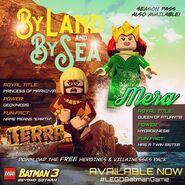 LEGO Batman 3 Heroines & Villainesses Pack Terra et Mera