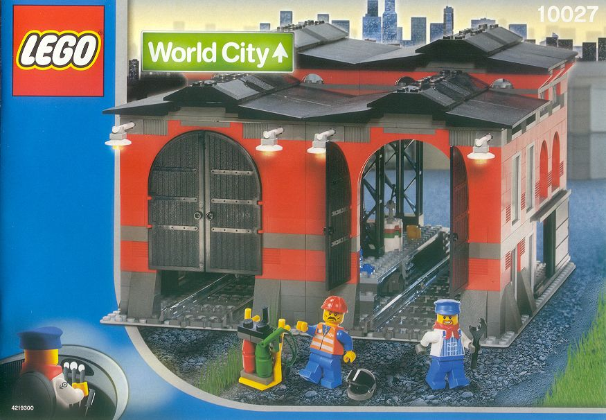 10027 Train Engine Shed