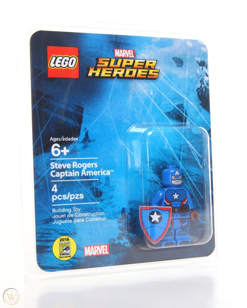 Comic-Con Exclusive Steve Rogers Captain America Giveaway