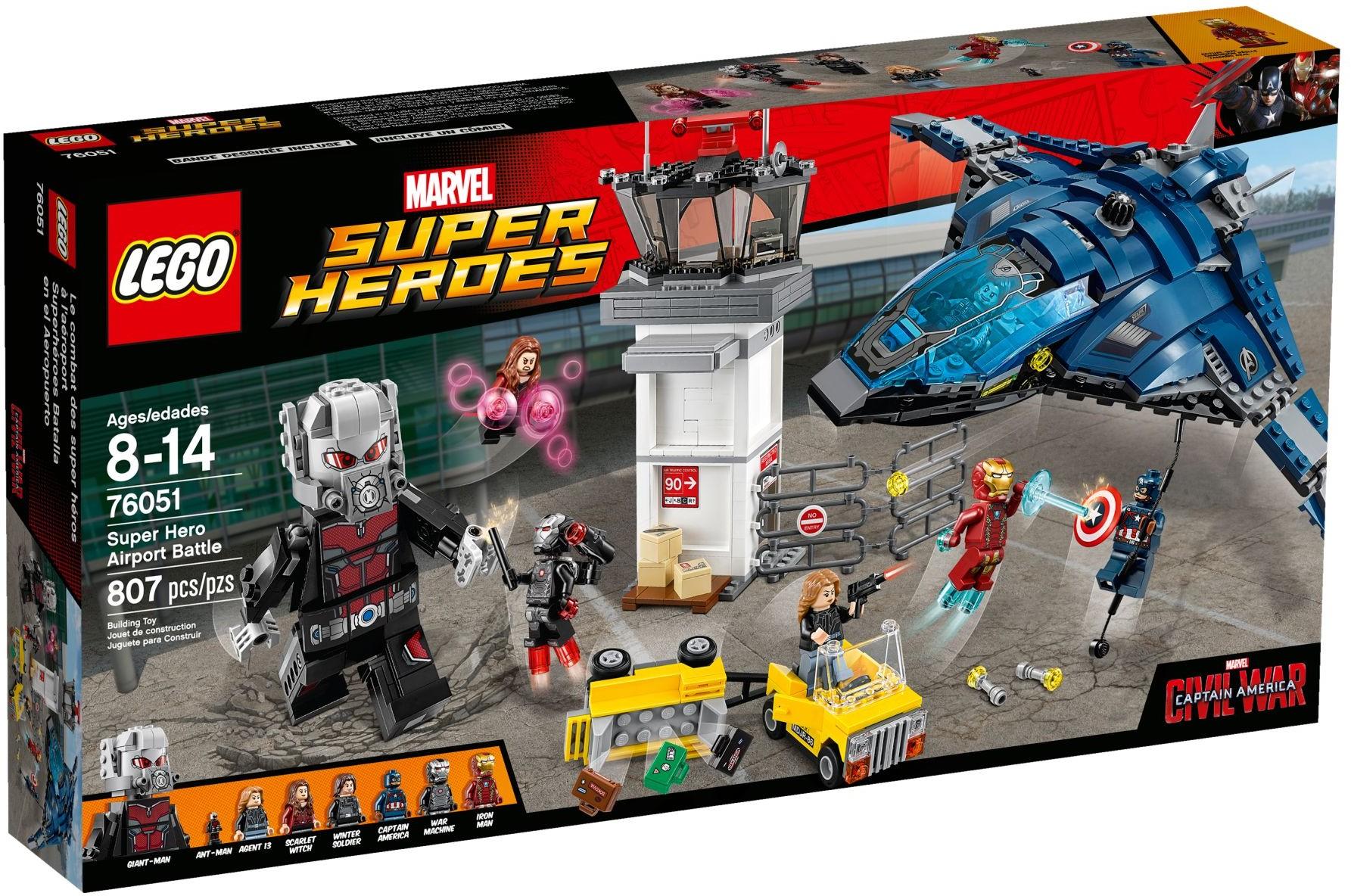 76051 Super Hero Airport Battle