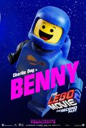 Lego movie two the second part benny
