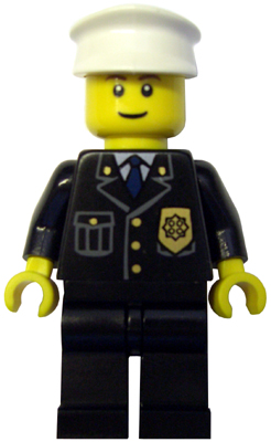 City Police Officer Three