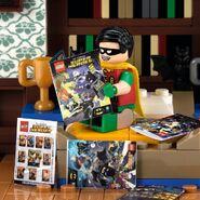 Vignette Free Comic Book Day Robin
