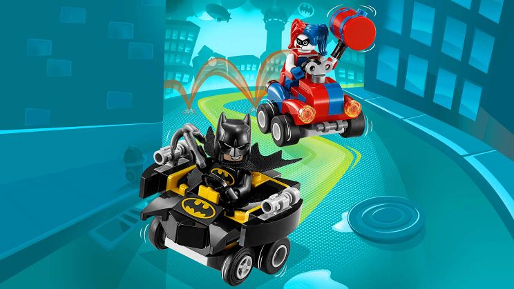 76092 Mighty Micros : Batman contre Harley Quinn