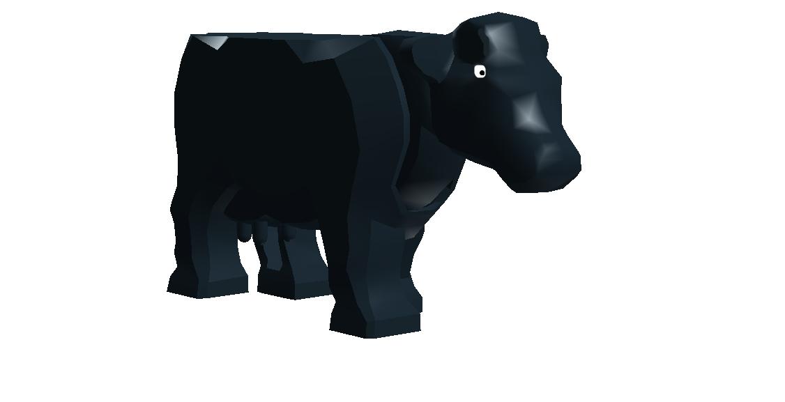 Aberdeen Angus Cow