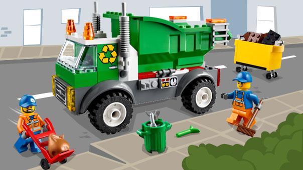 10680 Le camion poubelle