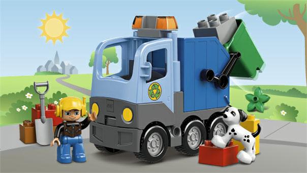 10519 Le camion poubelle