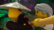 Sensei Garmadon vs. Techno Wu