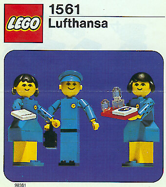 1561 Lufthansa Flight Crew