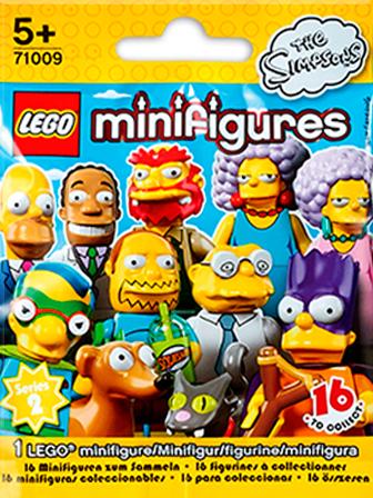 71009 Minifigures Série 2 Les Simpson