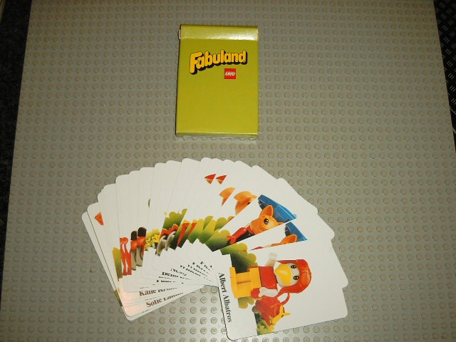 GA05 Fabuland Memory Card Game