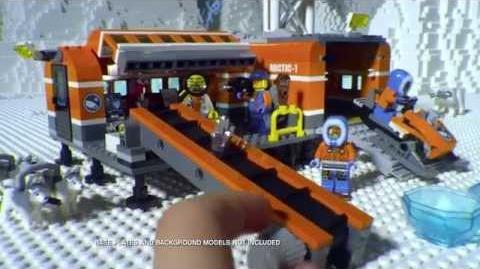 LEGO CITY Arctic Base 30s TVC