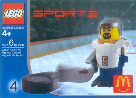 7919 White Hockey Player