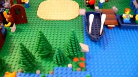 Custom Lego Camp Half-Blood MOC
