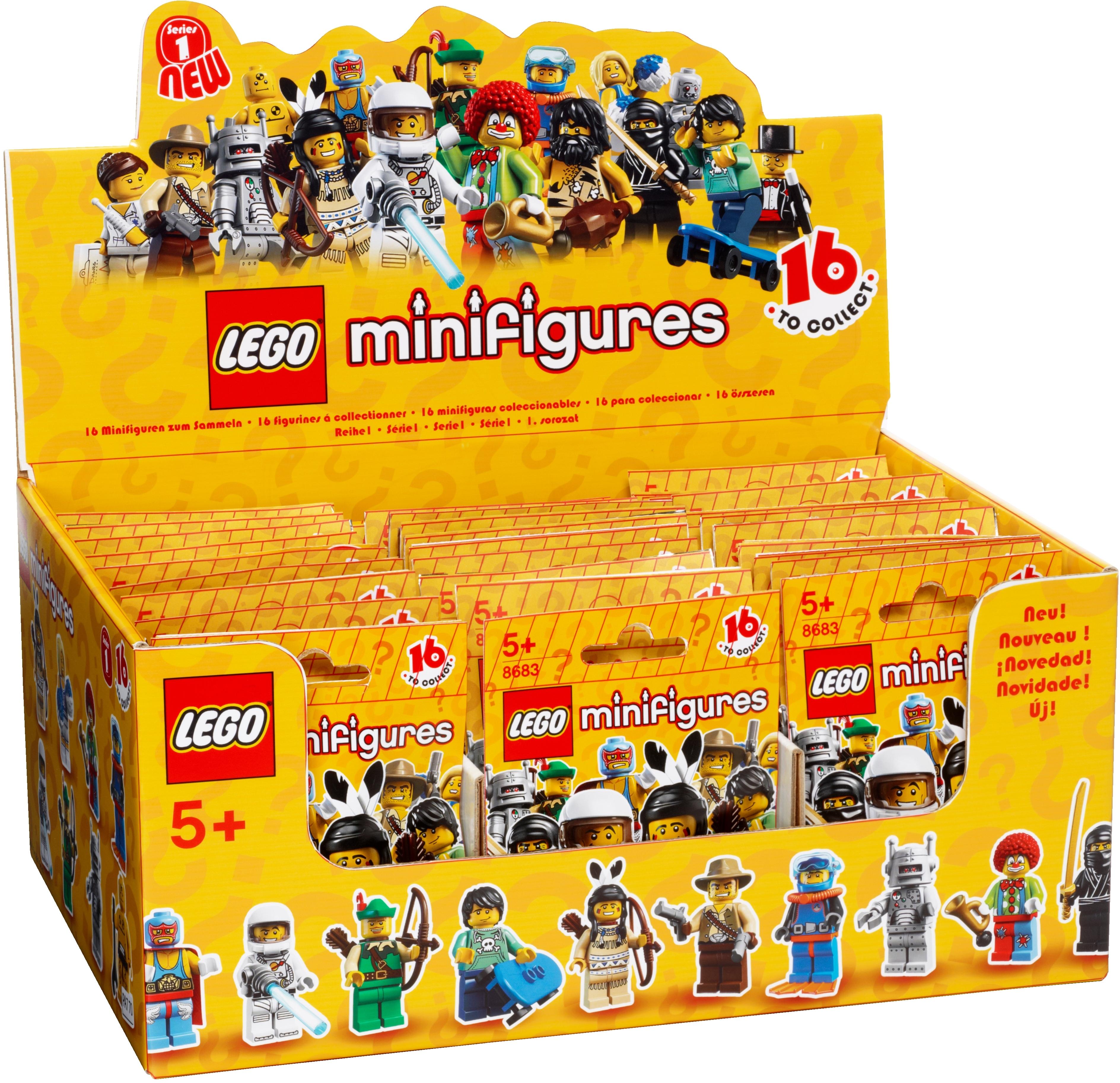 4570178 Minifigures Series 1