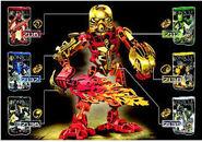 Tahu wearing Golden Armor