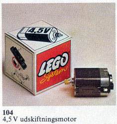 104 4.5V Replacement Motor
