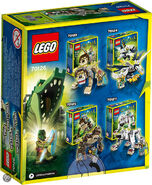 70126 Crocodile Legend Beast back