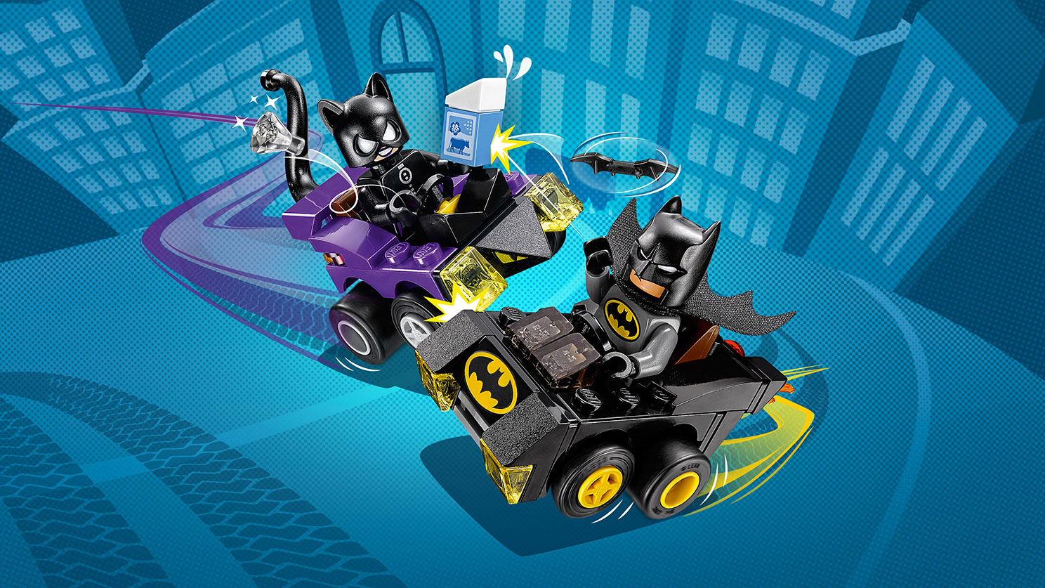 76061 Mighty Micros : Batman contre Catwoman