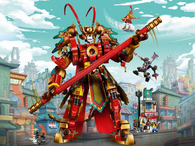 80012 Le robot guerrier de Monkey King