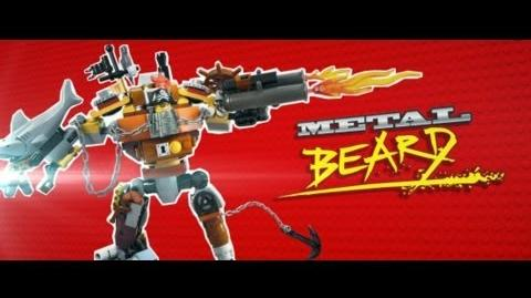The LEGO Movie - Meet Metal Beard