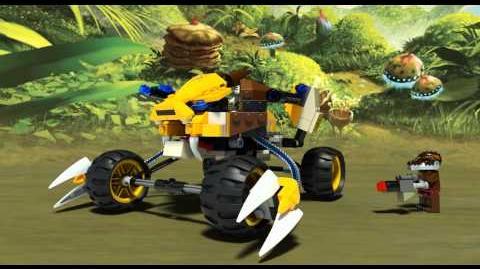 LEGO Chima 70002 - Lennoxův lví útok - animace
