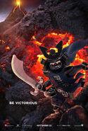 The LEGO Ninjago Movie Poster Garmadon